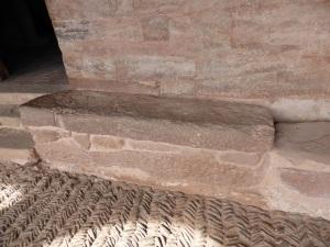 144. San Millán de la Cogolla. Monasterio de Suso. Sepulcro de la reina Toda