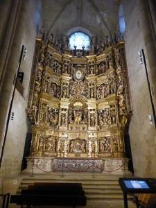 169. Santo Domingo de la Calzada. Catedral. Retablo Mayor, hoy en el lateral