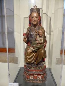 174. Santo Domingo de la Calzada. Catedral. Museo. Virgen del XIII