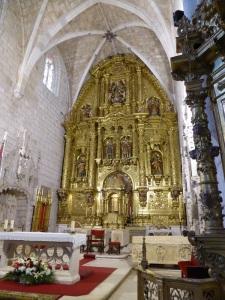 208. Covarrubias. Colegiata. Iglesia. Retablo Mayor