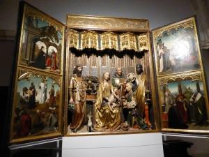 219. Covarrubias. Colegiata. Museo. Tríptico de los Reyes Magos