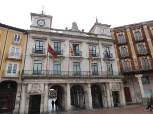 244. Burgos. Plaza Mayor. Ayuntamiento