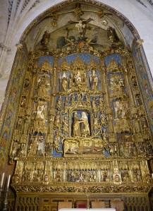 253. Burgos. Catedral. Capilla de Santa Ana. Retablo de Gil de Siloé
