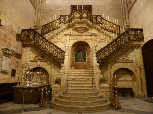 255. Burgos. Catedral. Escalera Dorada de Diego de Siloé