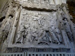 264. Burgos. Catedral. Trascoro