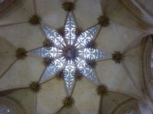 265. Burgos. Catedral. Bóveda de la capilla del Condestable