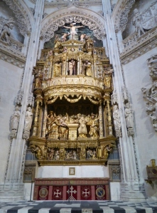 266. Burgos. Catedral. Retablo de San Pedro de la capilla del Condestable