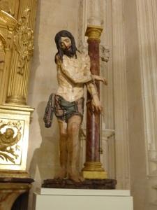 272. Burgos. Catedral. Museo. Cristo atado a la columna de Diego de Siloé