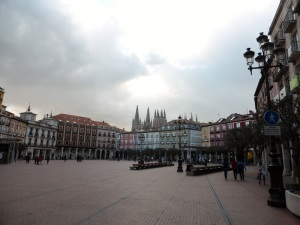 276. Burgos. Plaza Mayor