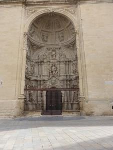 54. Logroño. Catedral. Portada oeste