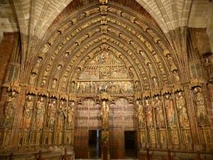 70. Laguardia. Santa María de los Reyes. Portada