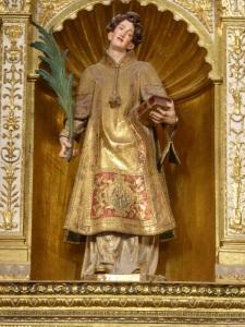 076. Palencia. Catedral. Capilla Mayor. San Antolín, obra de Gregorio Fernández