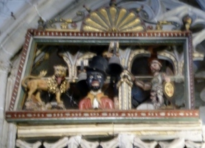 077. Palencia. Catedral. El Papamoscass