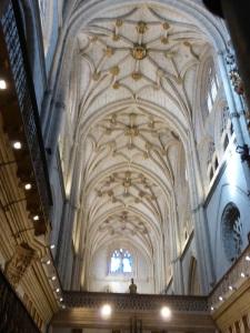 079. Palencia. Catedral. Bóvedas nave central