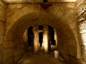 094. Palencia. Catedral. Cripta visigótica