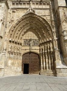 102. Palencia. Catedral. Puerta del Obispo
