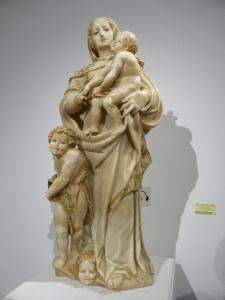 174. Zamora. Catedral. Virgen con el Niño y San Juanito.Procede monasterio San Jerónimo