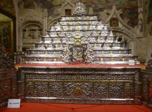 181. Zamora. Catedral. Altar del Monumento