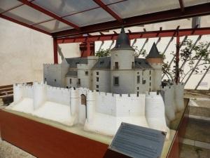 Maqueta del castillo de Simancas