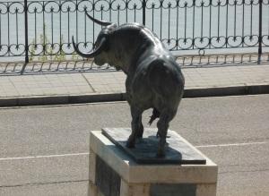 241. Tordesillas. Monumento al Toro de la Vega
