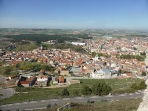 270. Peñafiel desde el castillo