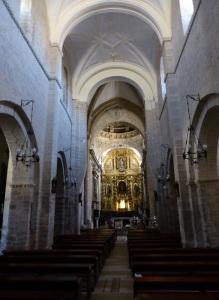 344. Carrión de los Condes. Santa María del Camino. Nave central