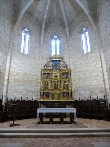 402. Astudillo. Monasterio de Santa Clara. Iglesia