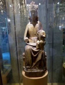 439. Peñafiel. Santa María. Museo de Arte Sacro. Procede de esta iglesia. Madera. XIV
