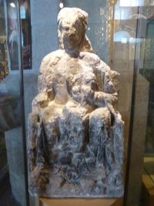 440. Peñafiel. Santa María. Museo de Arte Sacro. Procede de Peñafiel. Piedra. XII