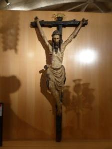 443. Peñafiel. Santa María. Museo de Arte Sacro. CRisto gótico