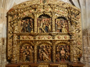 445. Peñafiel. Santa María. Museo de Arte Sacro. Procede de esta iglesia. Atribuido a Juan Ortiz el Viejo. XVI