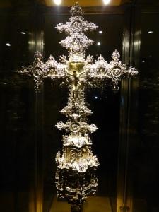 449. Peñafiel. Santa María. Museo de Arte Sacro. Cruz Procesional. 1567