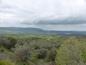 Desde Castarlenas hacia el sudoeste