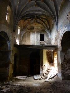 San Pedro. Interior hacia los pies