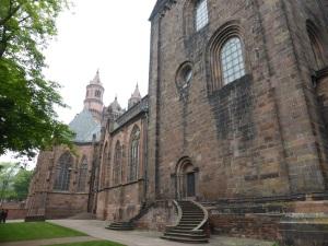 116. Worms. Catedral. Desde el sudoeste