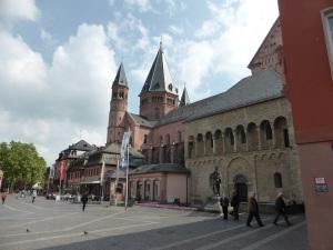 173. Maguncia. Catedral desde el sudoeste