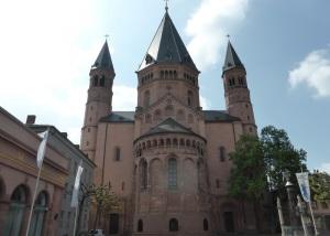 183. Maguncia. Catedral. Cabecera este