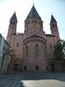214. Maguncia. Catedral. Cabecera oriental