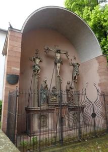 217. Maguncia. San Ignacio. Crucifixión de Hans Backoffen