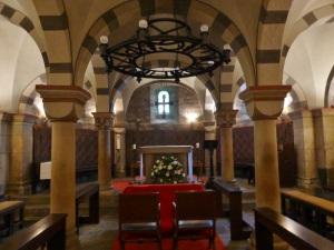 251. Monasterío de María Laach. Cripta