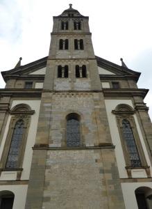 315. Grosscomburg. Torre de la iglesia