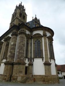 322. Grosscomburg. San Nicolás. Ábside