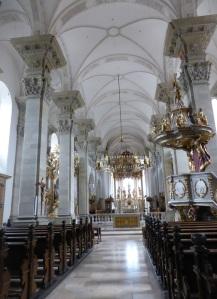 324. Grosscomburg. San Nicolás. Nave central