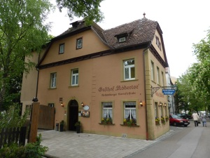 354. Rothenburg. Hotel