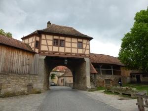 357. Rothenburg. Puerta Röder