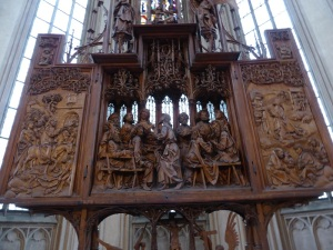 455. Rothenburg. San Jacobo. Altar de la Santa Sangre de Tilman Riemenschneider