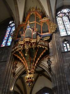 476. Estrasburgo. Catedral. Órgano