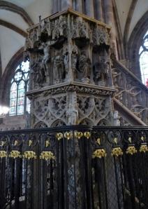 478. Estrasburgo. Catedral. Púlpito