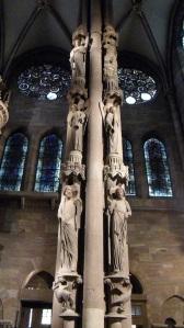 491. Estrasburgo. Catedral. Pilar de los Ángeles