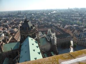 543. Estrasburgo. Catedral. Subida a la torre